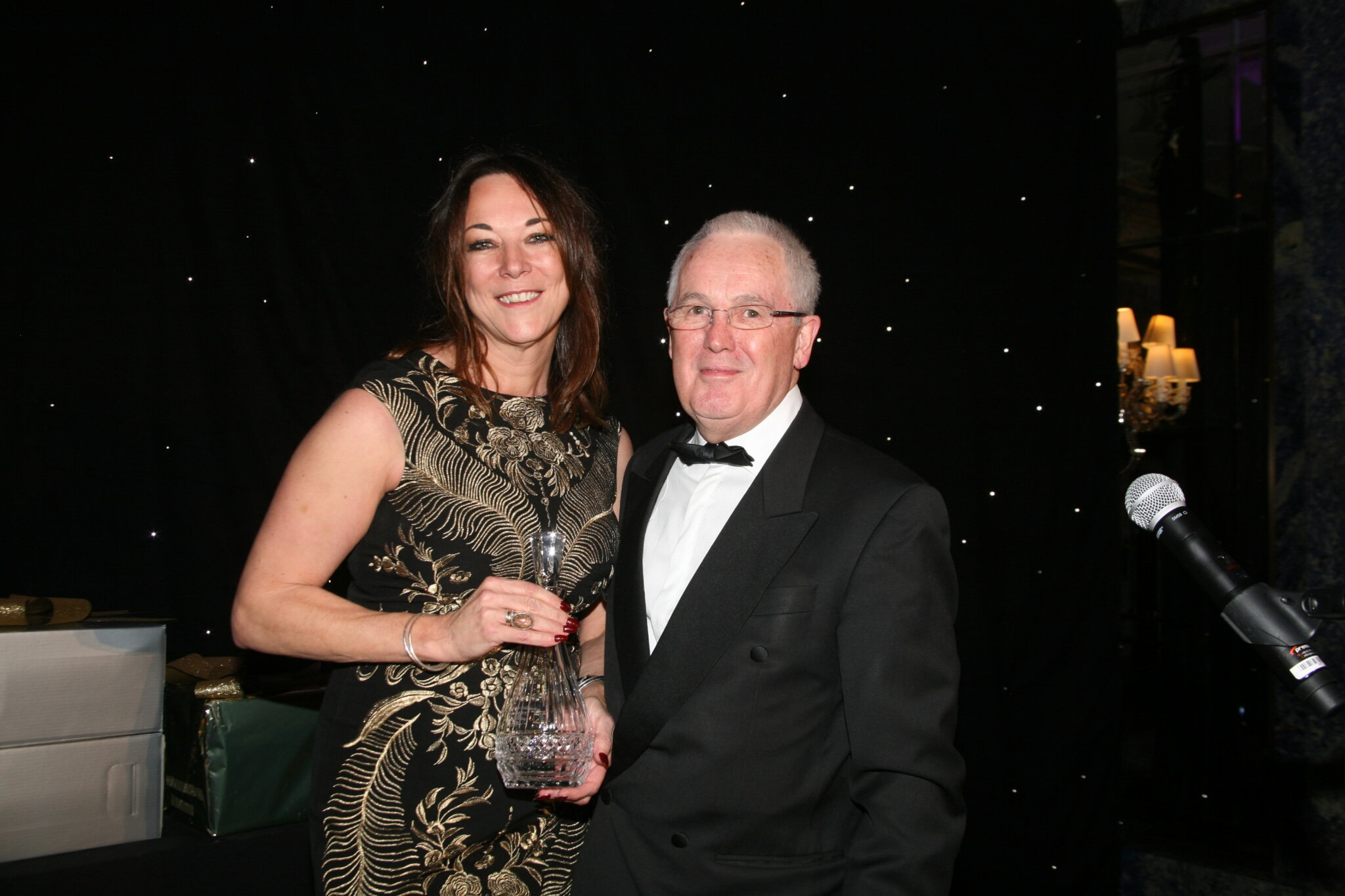Partner Karen Cooksley awarded the Movers & Shakers 'Fellowship' award