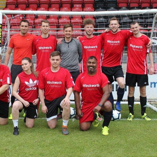 Swan Charity Football