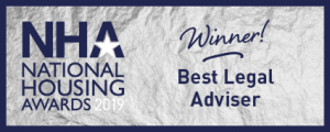 "Winckworth Sherwood wins the ""Best Legal Adviser"" award at the National Housing Awards 2019"